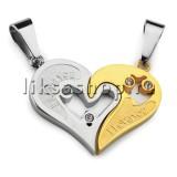 Кулон для влюбленных KL001.1 Сердце