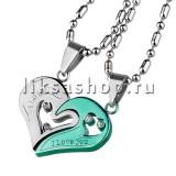 Кулон для влюбленных KL001.6 Сердце