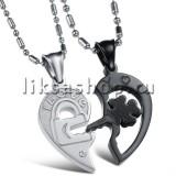 Кулон для влюбленных KL014.3 Сердце