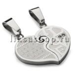 Кулон для влюбленных KL018.3 Сердце