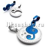 Кулон для влюбленных KL039.4 Скрипичный ключ