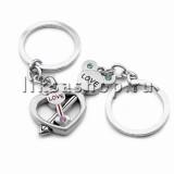 Брелок TL033 Ключик в сердце