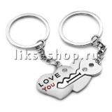 Брелок TL035 Ключик в сердце